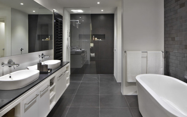 3 Essential Tips From Caesarstone S Experts For Bathroom Design Stone Select Countertops